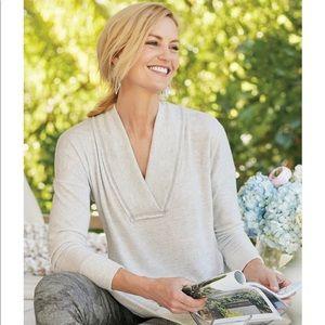 Soft Surroundings Heather Gray Hollace Tunic